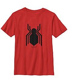 Marvel Big Boys Spider-Man Homecoming official Logo Short Sleeve T-Shirt