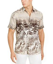 Men's Tropical Print Shirt, Created for Macy's
