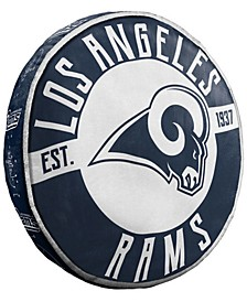 Los Angeles Rams 15inch Cloud Pillow