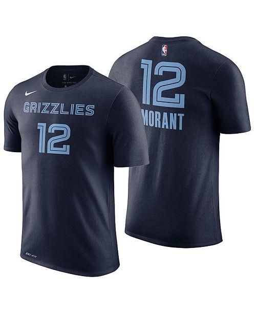 Nike Men's Temetrius Morant Memphis Grizzlies Icon Player T-Shirt