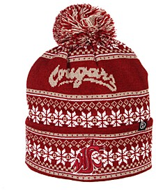 Washington State Cougars Blitzen Pom Knit Hat