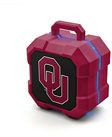Prime Brands Oklahoma Sooners Shockbox LED Speaker