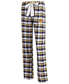 Women's Los Angeles Lakers Piedmont Flannel Pajama Pants