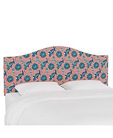 Lily Pond Collection Queen Curved Headboard