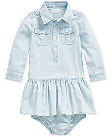 Baby Girls Chambray Dress