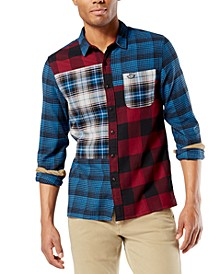 Men's All Season Tech Flannel Shirt, Created For Macy's