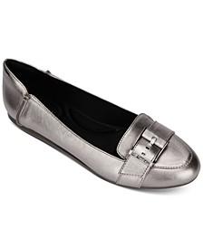 Women's Viv Buckle Loafer Flats