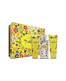 Pretty Petals Women's 3 Piece Gift Set