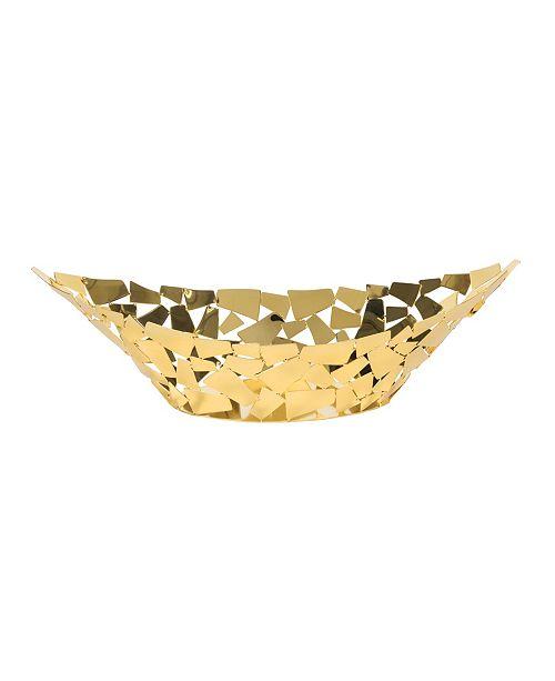 Leeber Gold tone Facets Centerpiece