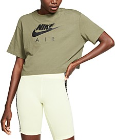 Women's Air Cotton Cropped Top
