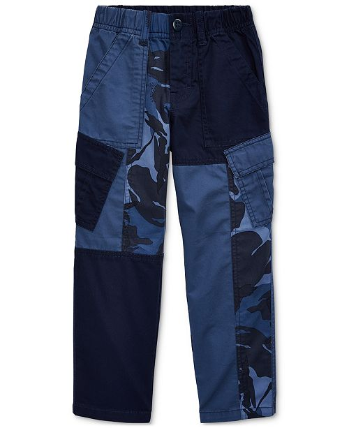Polo Ralph Lauren Toddler Boys Patchwork Camo Cargo Pants