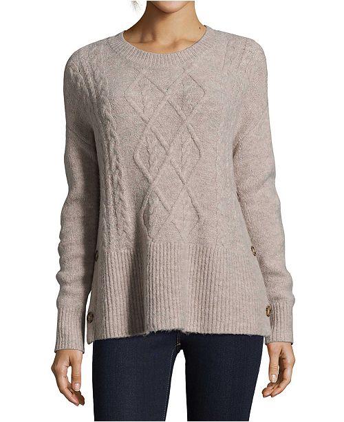 John Paul Richard Cable-Knit Sweater