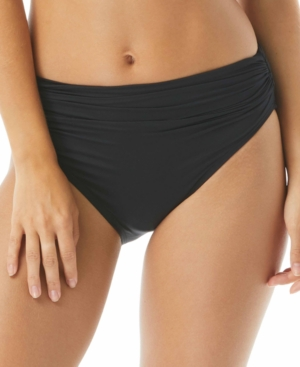 Classic Shirred Bikini Briefs Women's Swimsuit
