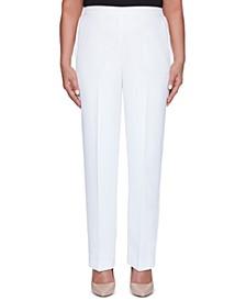 Petite Miami Beach Pull-On Pants