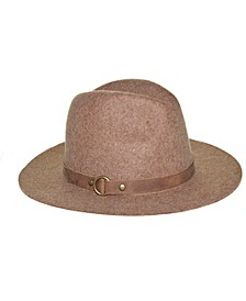 Wool Felt Tall Crown Fedora