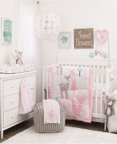 NoJo Sweet Forest Friends Nursery Collection