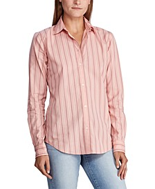 Striped Cotton Long-Sleeve