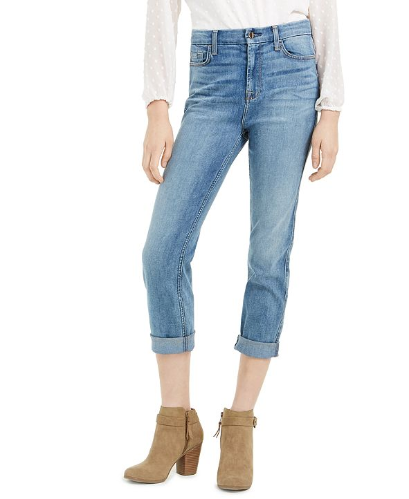 Jen7 by 7 For All Mankind Slim-Fit Boyfriend Jeans