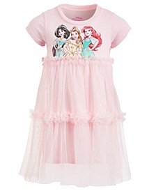 Little Girls Princesses Mesh Dress