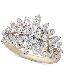 Diamond Cluster Ring (1 ct. t.w.) in 14k Gold