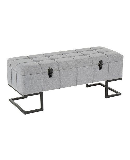 Lumisource Midas Storage Bench