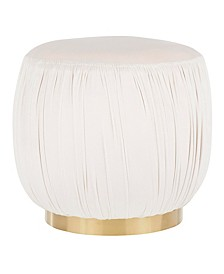 Ruched Ottoman