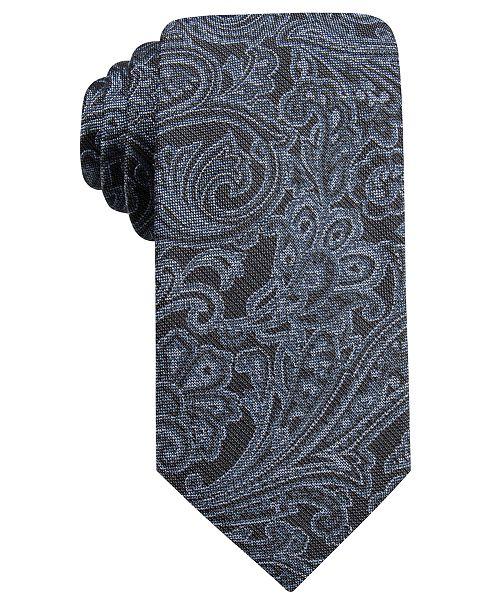 Ryan Seacrest Distinction Men's Wilson Slim Paisley Tie, Created For Macy's