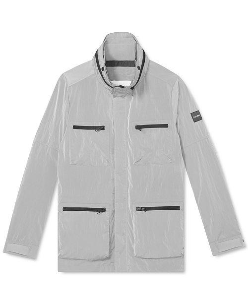 Calvin Klein Men's Field Jacket with Zip-Out Hood