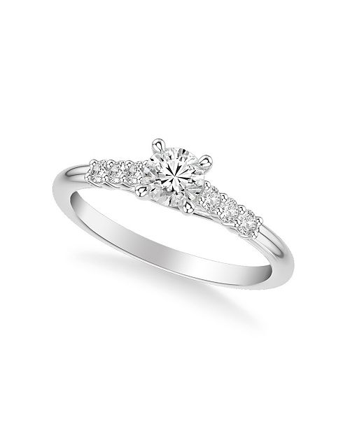 Macy's Diamond Engagement Ring (5/8 ct. t.w.) in 14k White, Yellow or Rose Gold