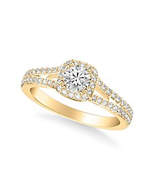 Diamond Engagement Ring (3/4 ct. t.w.) in 14k White, Yellow or Rose Gold