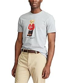 Men's Custom Slim Fit Polo Bear T-Shirt