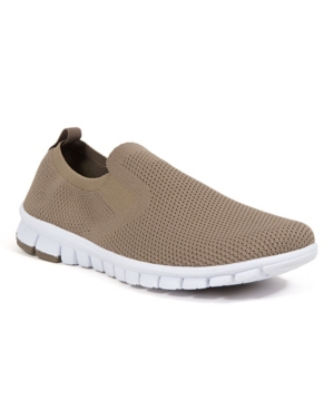 Men's NoSoX Eddy Flexible Sole Bungee Lace Slip-On Oxford Hybrid Casual Sneaker Shoes