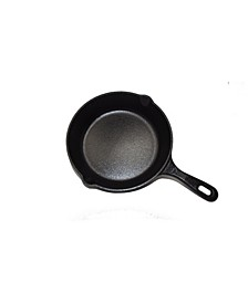 "8"" Seasoned Cast Iron Round Skillet"
