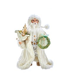 18-Inch Kringle Klaus Winter White Santa