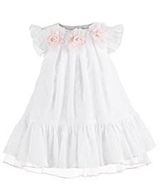 Baby Girls Eyelet Rosette Dress