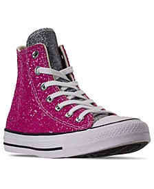 Women's Chuck Taylor All Star Galaxy Dust Ox High Top Casual Sneakers from Finish Line