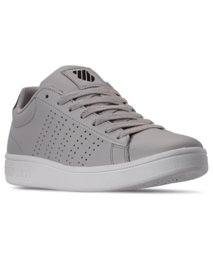 K-Swiss  K-SWISS MEN'S COURT CASPER CASUAL SNEAKERS FROM FINISH LINE