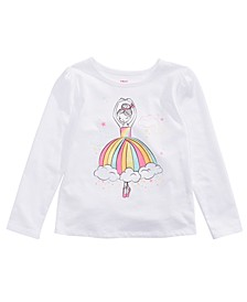 Little Girls Ballerina Rainbow T-Shirt, Created For Macy's