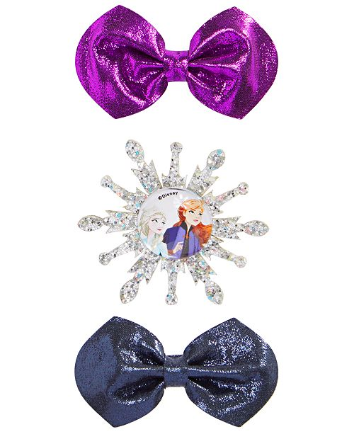 On the Verge Little & Big Girls 3-Pk. Frozen Hair Bows