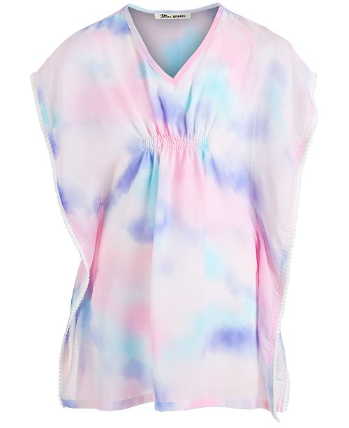 Miken Big Girls Tie-Dyed Cover Up