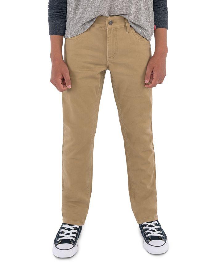 Levi's - Boys' 511 Sueded Pants