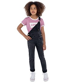 Big Girls Girlfriend Denim Overalls