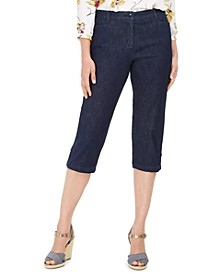 Petite Denim Capri Pants, Created for Macy's