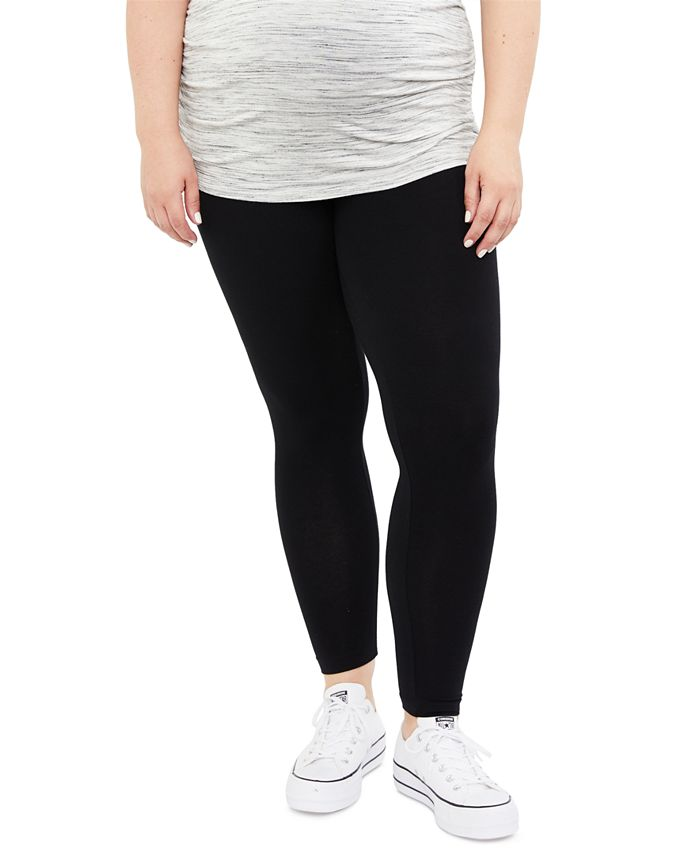 Motherhood Maternity - Maternity Plus Size Leggings