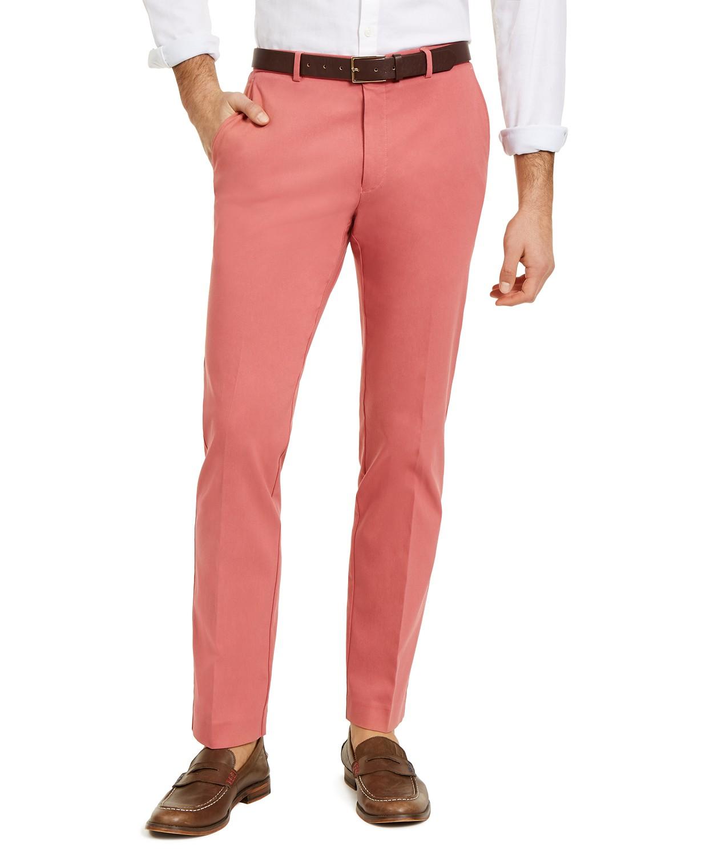 Tommy Hilfiger Mens Modern-Fit TH Flex Stretch Dress Pants (various colors/sizes)