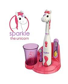 Kids Electric Toothbrush Unicorn Set