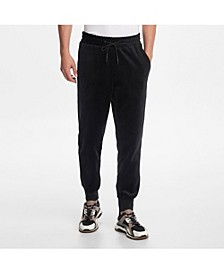 Paris Men's Velvet Drawstring Jogger