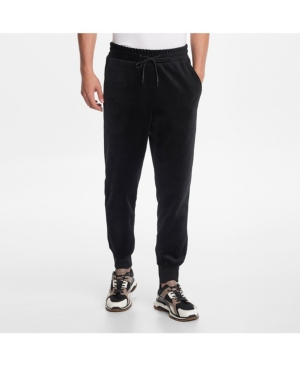 Karl Lagerfeld Tops PARIS MEN'S VELVET DRAWSTRING JOGGER