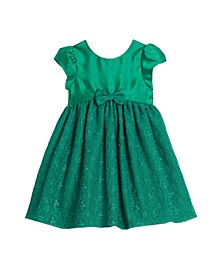 Little and Toddler Girls London Lace Holiday Dress