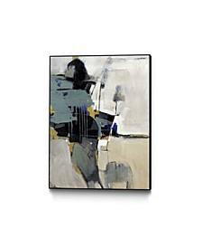 "40"" x 30"" Fluidity II Art Block Framed Canvas"